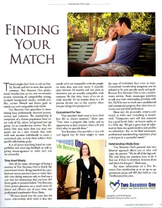 Article in Central Florida Lifestyle Magazine