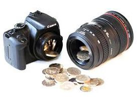 DSLR Coin Bank