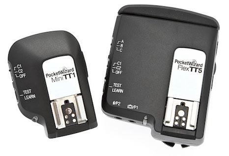 Pocket Wizard Mini TT1 and Flex TT5