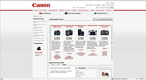 Canon Direct Store