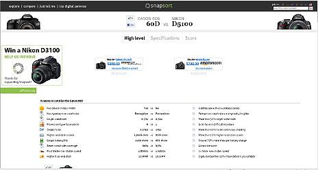 Snapsort.com Compare