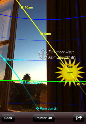 Sun Seeker augmented reality