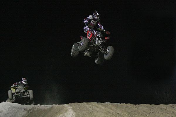 ATVs Jumping