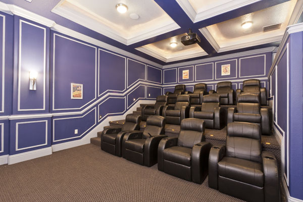 500 Muirfield Home Theater