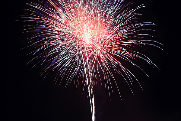 Photographing Fireworks this 4th of July (1/3)