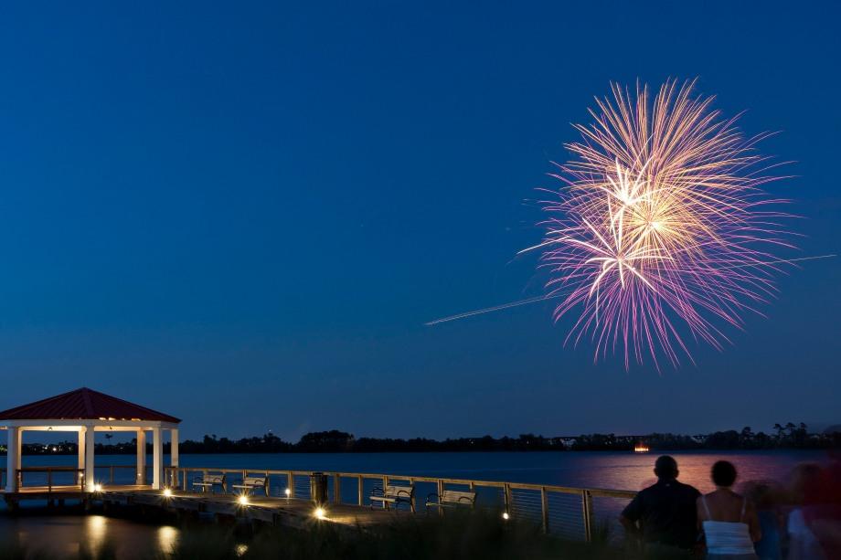 Baldwin Park Fireworks