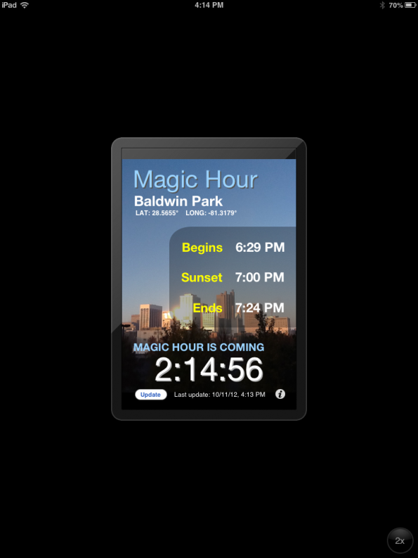 Magic Hour App