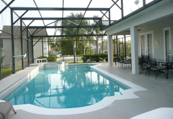 Before image of pool