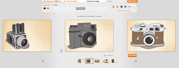 Illustrated Vintage Cameras