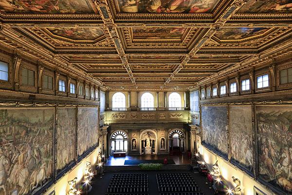Grand Hall at Palazzo Vecchio