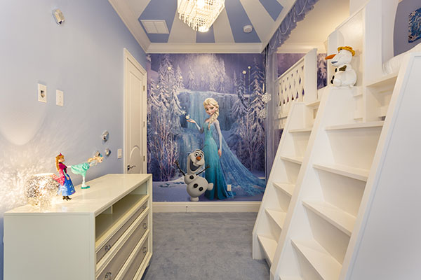 Frozen Theme Room