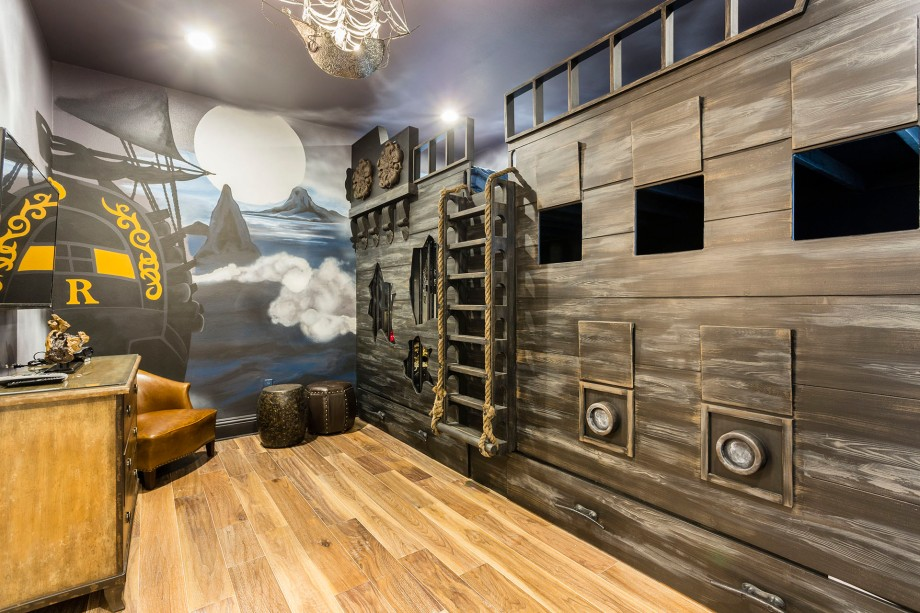 Pirate Theme Room