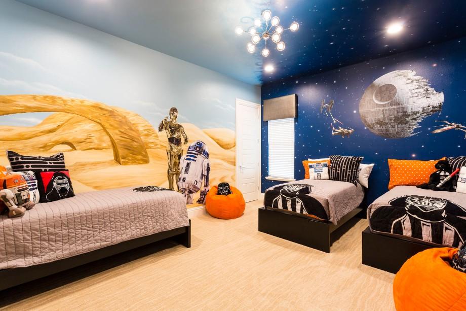 Star Wars Theme Room